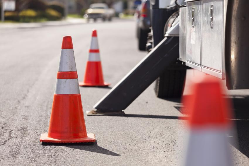 truck-cones